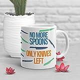 No More Spoons Tazza da caffè Spoonie Regalo Malattia Cronica Invisibile Salute Mentale Get Well Diabete Lupus Crohns Fibromialgia Fatica