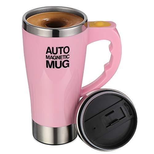 TsunNee Elektrischer selbstrührender Kaffeebecher, 450 ml, E