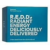 R.E.D.D. Bar, Vegan Protein Bar, Low Sugar &...