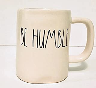Rae Dunn by Magenta Be Humble Mug in large letters Coffee Tea Soup Mug Cup