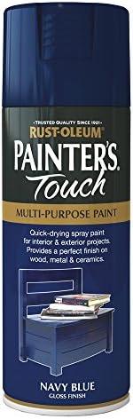 Rust-Oleum AE0040024E8 400ml Painter's Touch Spray Paint - Matt White