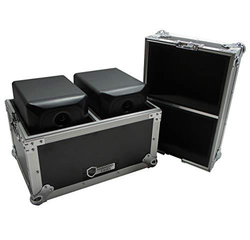 Harmony HCSTUMON5 Flight Transport Road Custom Case Compatible with JBL LSR305 Monitors