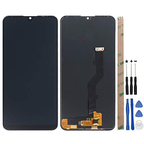 """YHX-OU 6.2\"""" Für ZTE Blade V10 Vita LCD Display Touchscreen Ersatz Bildschirm mit Komplett Werkzeug (Schwarz)"""