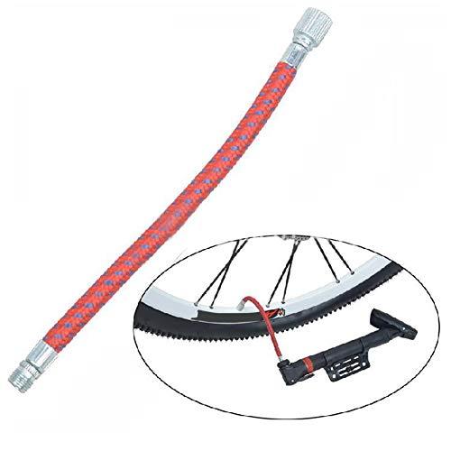 Luftschlauchadapter Profi-Dauerverbinder Tating Kopf Praktisch Flexibel für Fahrradpumpe SY Apply Verlängerung gh Druck Inflating