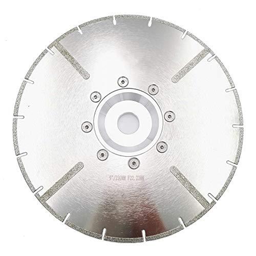 XIANGSHAN 9' 22.23MM o M14 Brida electrochapada Cuchilla de Corte de Diamante con protección 230MM Reforzado Discos de Diamante con el Reborde (Size : M14 Flange)