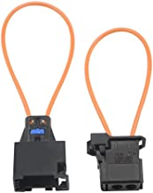 WMYCONGCONG 2 PCS Fiber MOST Optical Optic Loop Bypass Male Female Adapter for Benz Audi Mercedes BMW VW Porsche