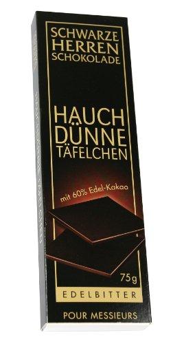 Sarotti Schwarze Herren Hauchdünne Täfelchen