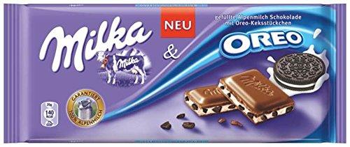 Milka Tavoletta di Cioccolato Oreo - 100 g