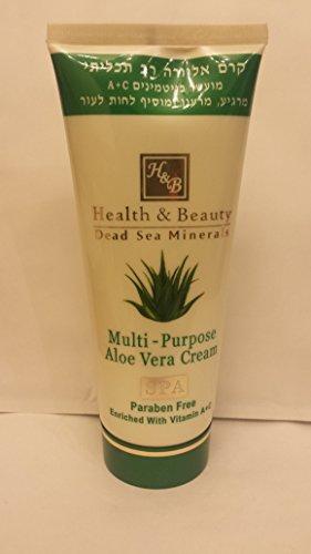 Health & Beauty Crème multi-usages Enrichie avec Aloe Vera - 180 ml