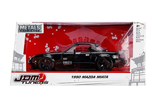 1:24 JDM - '90 MAZDA MIATA, Black