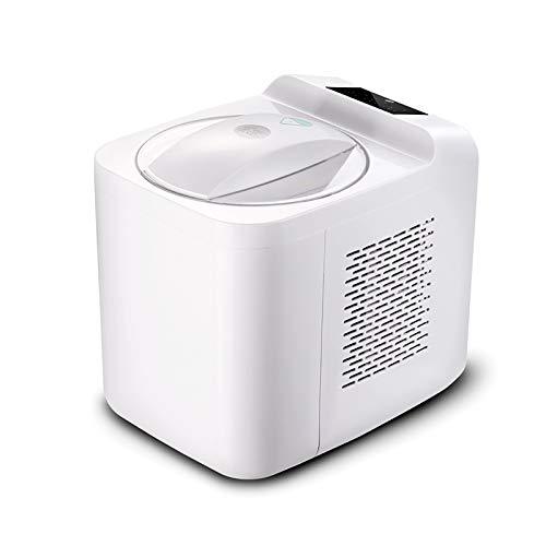 Máquina automática para hacer helados Compresor rápido y seguro Capacidad de 1 l No es necesario precongelar Mantener caliente automáticamente para batidos de frutas con sorbete de yogur congelado