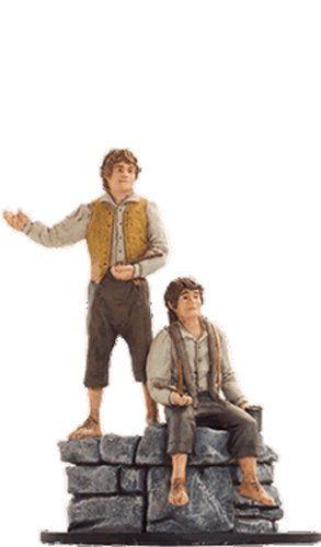 Lord of the Rings Figurine Collection Nº 34 Merry & Pippin