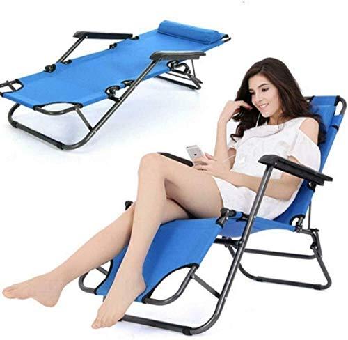 YBQ Tumbona Balancín Multifuncional Cama Plegable Al Aire Libre Plegable De Descanso De La Playa De Sun Patio Chaise Silla De Salón De La Piscina del Césped Ocioso