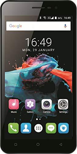 Denver SDQ-52004L - Teléfono móvil Libre de Dual SIM de 5.2' (4G, Quad Core 1.3 GHz, RAM de 2 GB, Memoria de 16 GB, cámara de 8 MP, Android 7.0) Color Plateado