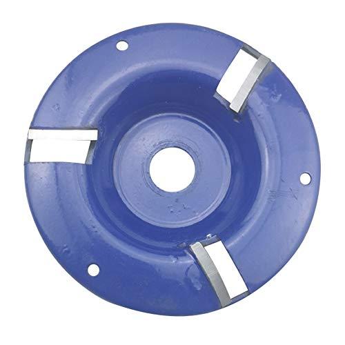 lo Drie tanden houtbewerking Turbo Thee dienblad 10mm boring graven houtsnijwerk Disc Tool Tridentate Arc frees