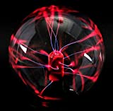PowerTRC 3' Plasma Ball Lightning Sphere Party USB Operated