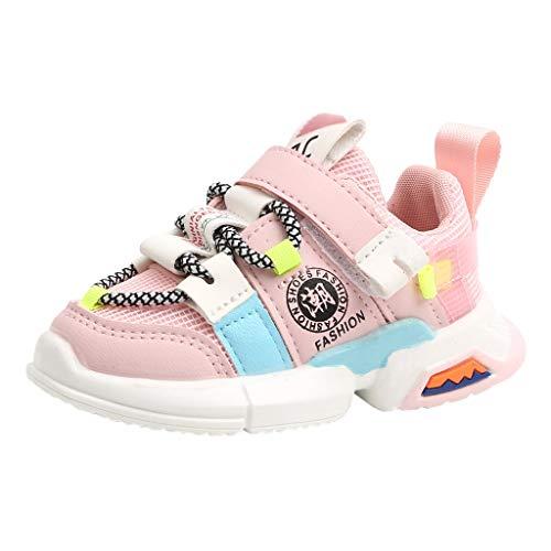 UOMOGO Bambina Scarpe da Ginnastica Casual Ragazzo Ragazza Scarpe da Corsa Leggera Tennis Running Sportive Sneaker