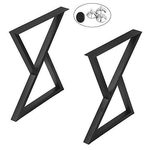 Patas para muebles de 2 piezas Patas de escritorio de metal resistente,...