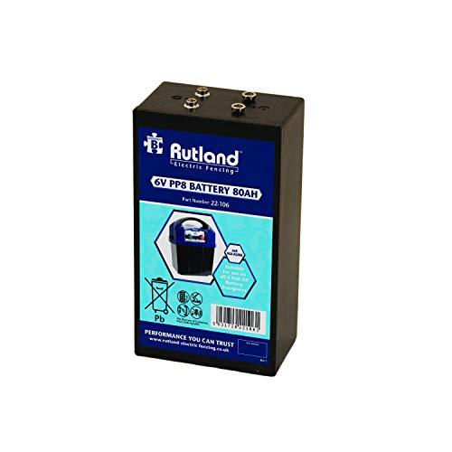 Rutland 22-106R Batterie für Zaungeräte-80 Amp
