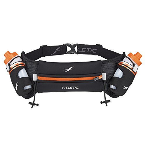 Fitletic Hydration Belts S/M Black & Pink