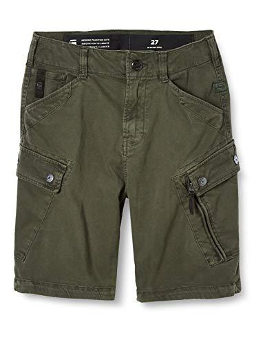G-STAR RAW Herren Shorts Roxic, Asfalt Gd C096-B575, 33W