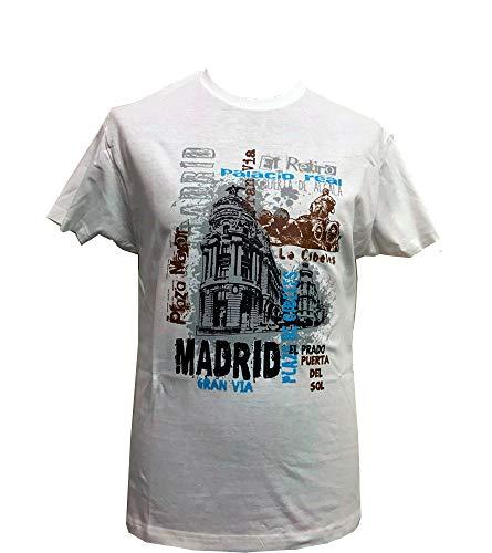 ZiNGS Camiseta Gran Vía Madrid Adulto
