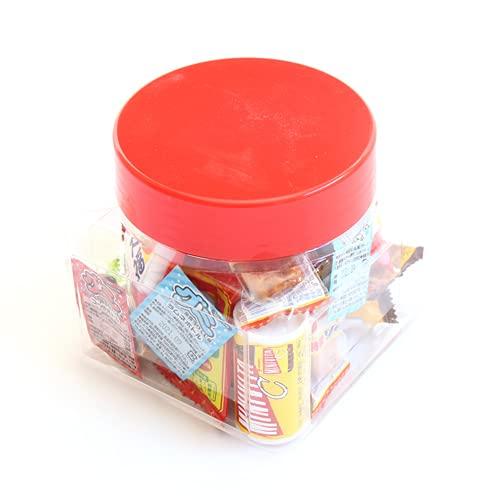 ちょっとプレゼントに・・・かわいい容器に入った駄菓子セット B【21コ入】
