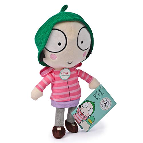 Sarah & Duck 1001 Soft Toy with Sound-Sarah, Multi