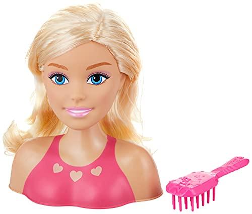 JP Barbie JPL63415 Flair JP Barbie Mini Blonde Styling Head, Multicolor