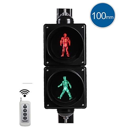 RuBao Ampel-Wandleuchte, Kreatives Ampelsignal, Verkehrszeichen, ideales Zubehör für jeden Verkehr/Verkehrssicherheitsbewusstsein (Fernbedienung des Lichts)