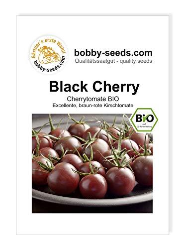 Black Cherry BIO Tomatensamen von Bobby-Seeds Sortenrar. Portion