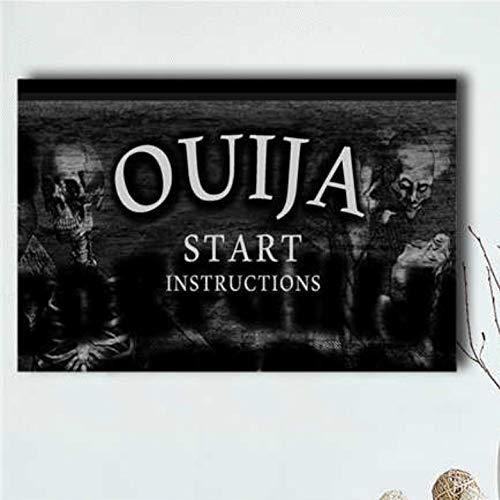 QAQTAT Ouija (2014) Horrorfilm Leinwanddruck Poster Malerei Bilder Wandkunst Bar Wandbild Inneneinrichtung 50 * 75cm (kein Rahmen)
