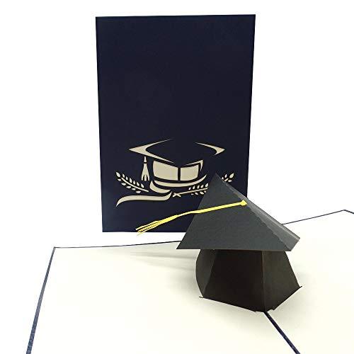 UNICUM Glückwunschkarte 3D Pop-Up Studienabschluss   Studienbeginn   Karte Studium   Uni Abschluss   Abitur   Examen   Bachelor   Master   Matura PA417