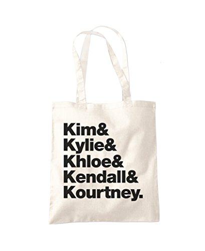 Kim Kylie Khloe Einkaufstasche Gr. One size, natur