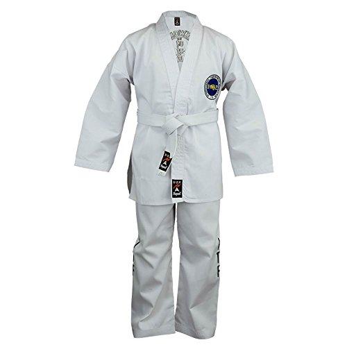 Playwell Tenue d'étudiant de Taekwondo ITF - Taille 7/200CM