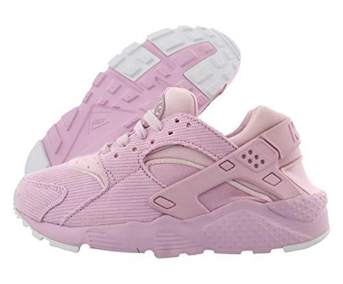Nike Huarache Run De Girls Shoes Size 4, Color: Pink