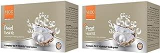 VLCC Pearl Facial Kit 2 X 40 g, Pack of 2