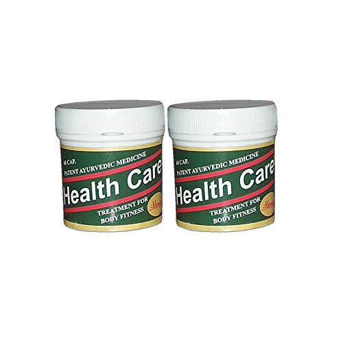 SHRI OM TRADERS Ayurvedic Health Care (60 Capsule) - Pack of 2