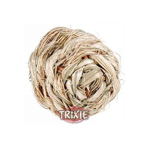 Trixie Gras Ball mit Glocke, 6cm - 3
