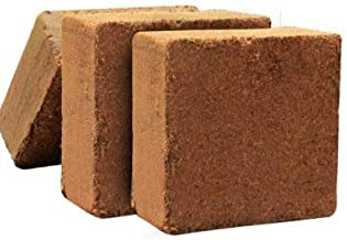 Greenway Organic CoirPith | CocoPeat for Home, Kitchen, Terrace Garden 5 kg Block (Pack of 1) - Expands Upto 75 litres