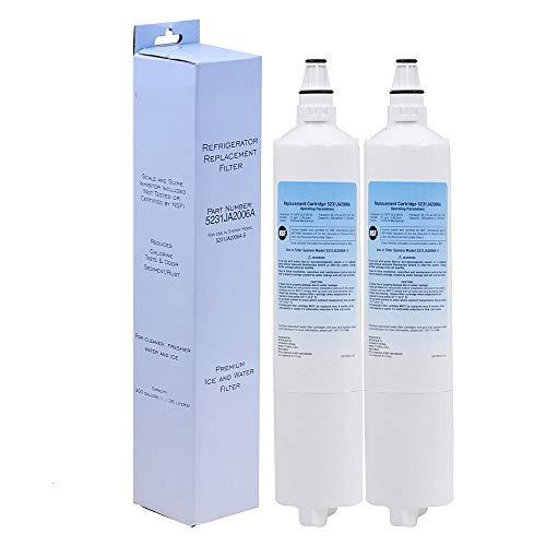 Cambio del Filtro Hogar Purificador De Agua Frigorífico Agua para LT600P, 5231JA2005A, 5231JA2006,2pcs