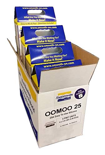 Smooth-On OOMOO 25 - BULK of 1 CASE 4 KITS