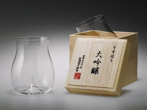 松徳硝子『うすはり 大吟醸 木箱入(3021010)』