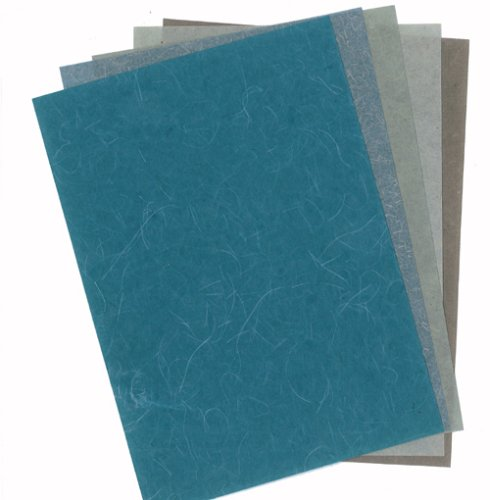 5er-Pack Bastelpapier-Set Nr. 109 - Cotton & Banana Cotton je 17,5 x 13 cm