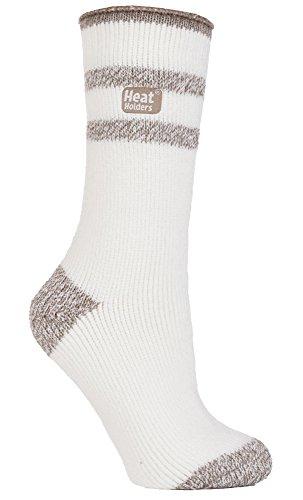HEAT HOLDERS - Damen Warme Streifen Winter Thermosocken Socken Bunte Muster 37-42 eur (Windermere)