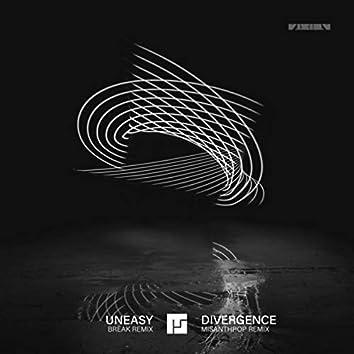 Uneasy (Break Remix) / Divergence (Misanthrop Remix)