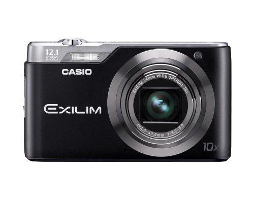 Casio Exilim EX-H5 Digitalkamera (12 Megapixel, 10-fach opt. Zoom, 6,9 cm (2,7 Zoll) Display, bildstabilisiert) schwarz
