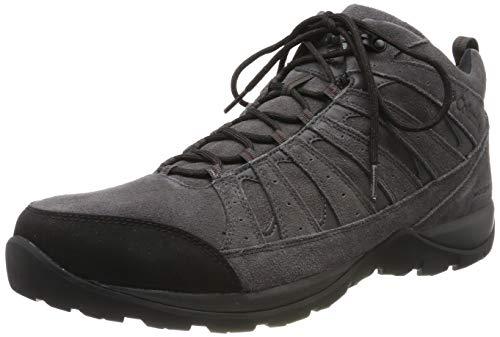 Columbia Redmond V2 LTR Mid WP, Chaussures de Randonnée Imperméables Homme, Gris (Dark Grey, Madd), 45 EU