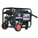 TOMAHAWK Welder Generator Stick Welder Engine Driven 120 Amp 7 HP Gasoline Portable 2,200 Watt Quiet Inverter Generator Engine