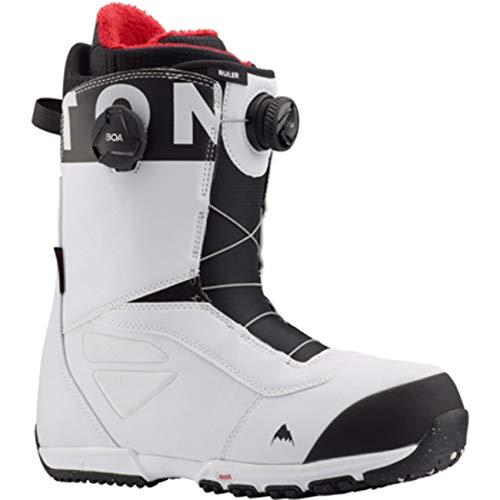 Burton - Boots De Snowboard Ruler Boa White Homme...
